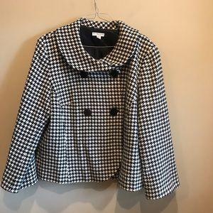 Pendleton Women's Plus Size Wool Coat 24 W